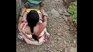 village guy free porn video outdoor sex with owner's real cheating wife
