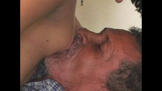 old man sucking boobs of indian desi girl sex mms scandals