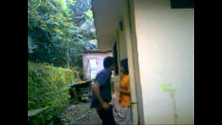 Desi outdoor sex mms clip of young desi college girl open sex with lover