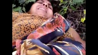 Rajasthani shy village girl outdoor fucked hard by young devar sex mms