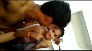 Gujrati hot college girl getting hard fucked by cousin hidden cam sex mms