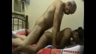 Old indian man xnxx with young indian girl big ass doggystyle