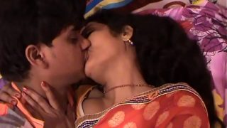 Mature aunty fucked hard by young devar leaked sex mms