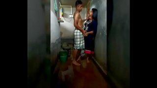 Tamil college girl hot sex in bathroom