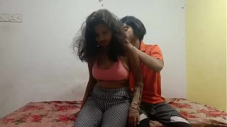 Indian teen college girl first time fuck with lover leaked sex mms