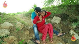 Indian village girl xxx hot outdoor sex with lover