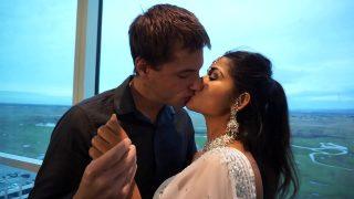 Indian desi porn star maya kiss and hard suck man white big cock